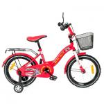 Bicicleta copii Toma Fire Station Red 12