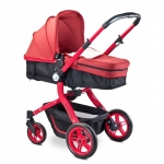 Carucior 2 in 1 Caretero Navigator Red