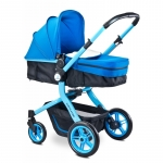 Carucior 2 in 1 Caretero Navigator Blue