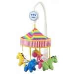 Carusel muzical patut bebe Baby Mix 382MC Pony