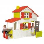 Casuta electronica pentru copii duplex cu etaj