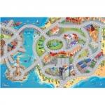 Covoras de Joaca Imprimeu Dublu Ecomat - Marea si Orasul
