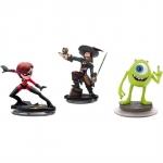 Disney Infinity Sidekicks 3 Pack (Mrs Incredible, Barbossa, Mike)