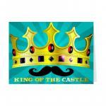 Felicitare cu masca-Regele castelului