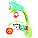Jucarie Fisher-Price Rainforest 3-In-1 Musical Mobile