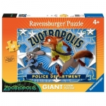 Puzzle Zootopia, Judy&Nick, 60 Piese