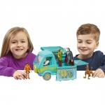 Scooby Doo Masina Misterelor set de joaca cu figurina Fred