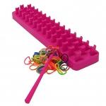 Set confectionat bratari Loop&Loom (300 elastice) - Grafix
