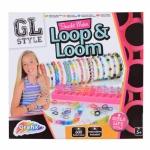 Set confectionat bratari Loop&Loom (600 elastice) - Grafix