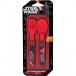 Set lingurita si furculita plastic Star Wars Lulabi 8340600