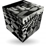 V-Cube Iluzie tabla de sah
