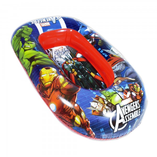 Barca gonflabila 110cm Saica Avengers imagine