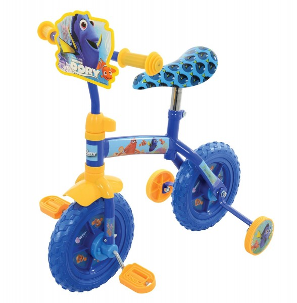 Bicicleta copii Finding Dory 10 inch 2 in 1 cu si fara pedale imagine