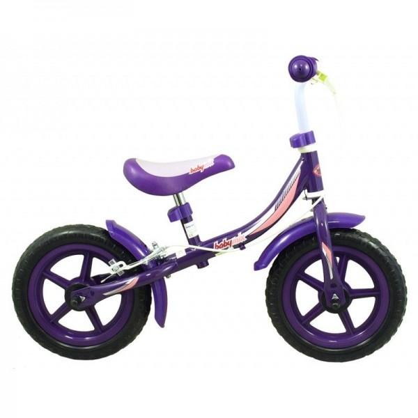Bicicleta fara pedale pentru copii Baby Mix Violet