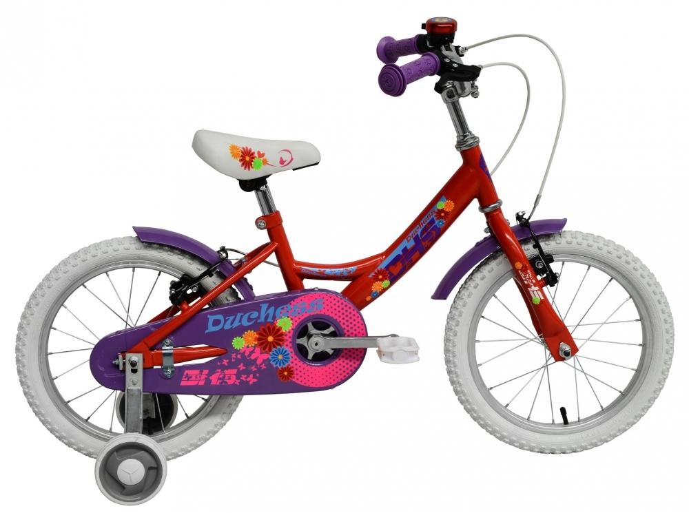 Bicicleta pentru copii Duchess Red 14 inch din categoria La Plimbare de la DHS