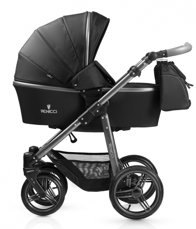 Carucior 2 in 1 Venicci Carbo Black