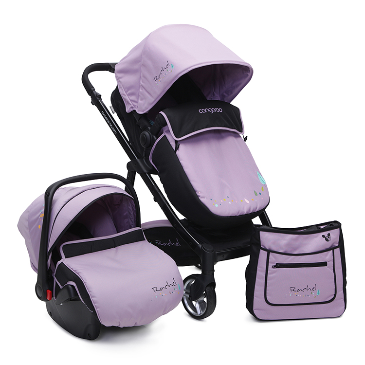 Carucior 3 In 1 Cangaroo Rachel Purple