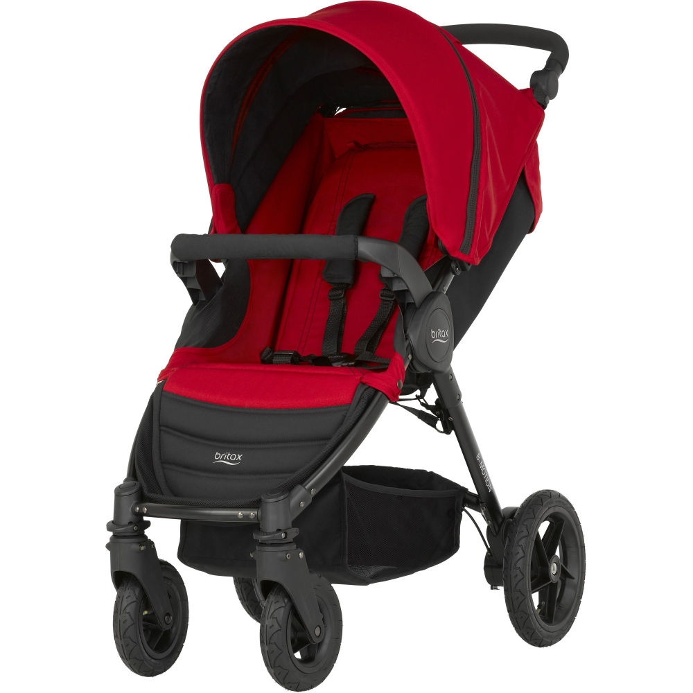 Carucior B-motion 4  Flame Red Britax