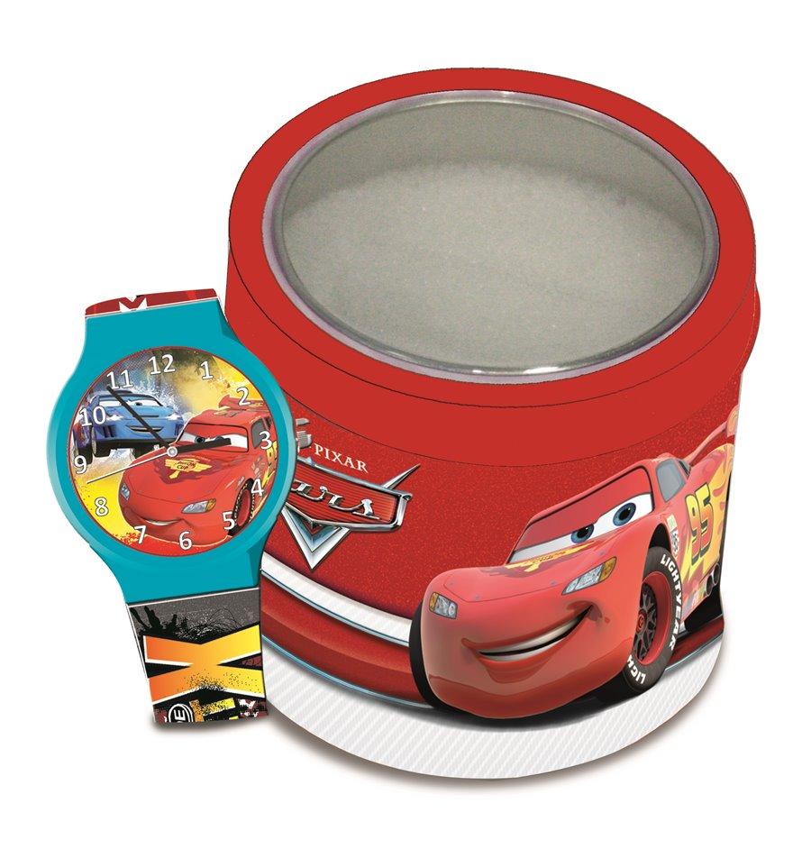 Ceas Cars in cutie metalica