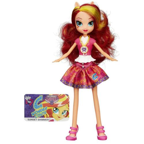 Figurina MLP Equestria Girls Friendship Games - Sunset Shimmer
