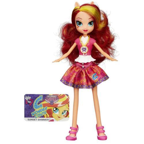 Figurina MLP Equestria Girls Friendship Games - Sunset Shimmer