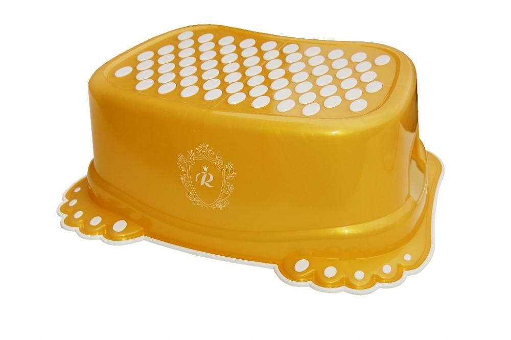 Inaltator anti-derapant pentru toaleta si chiuveta Royal Baby Gold
