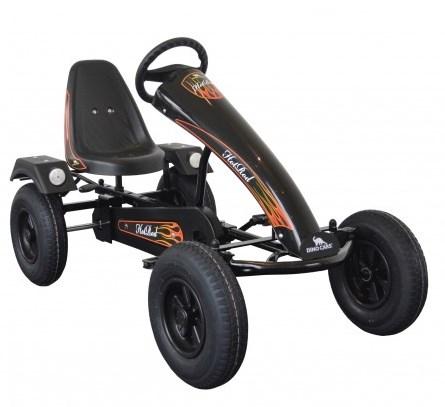 Kart cu pedale Dino Cars Classic AF Hot Rod