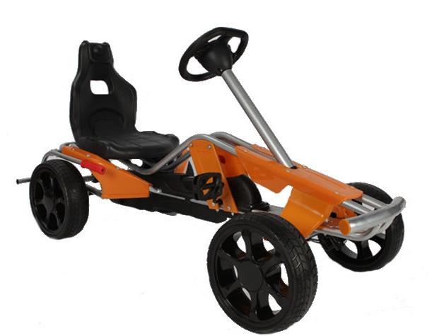 Kart cu pedale pentru copii Go Kart Wind Orange