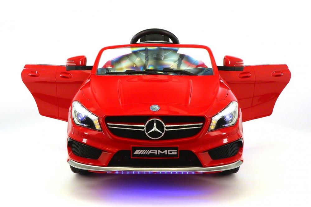 Masinuta Electrica Cu Telecomanda Si Roti Eva Mercedes Cla45 Red
