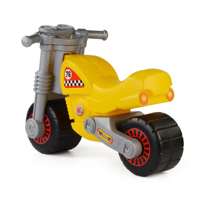 Motocicleta galbena, Wader imagine