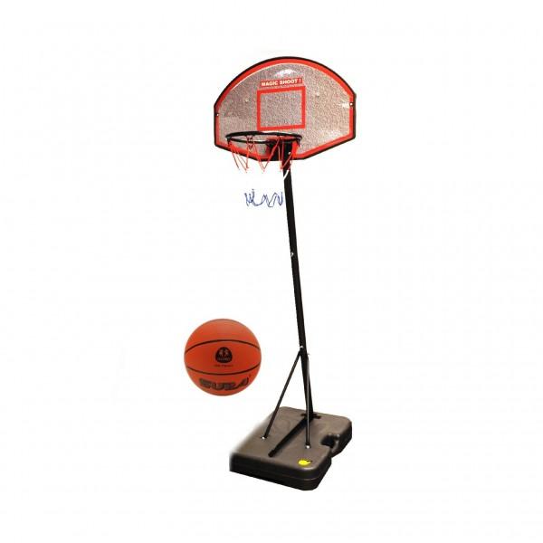 Panou de baschet pentru copii si adulti Globo 37194 cu minge inclusa 188cm inaltime imagine