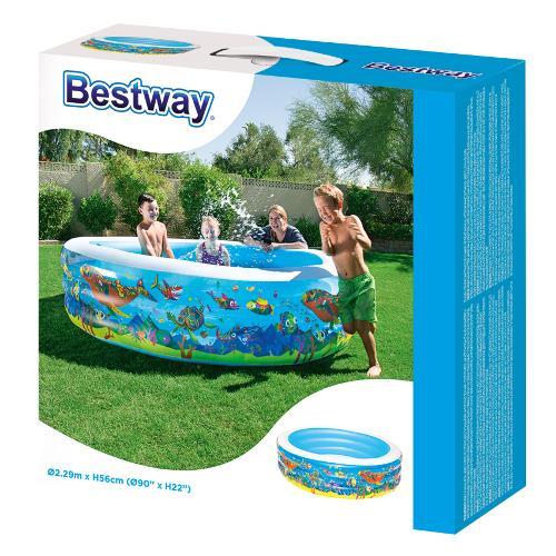 Piscina Gonflabila cu 3 Inele Play Pool imagine