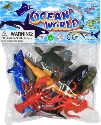 Set 9 animale marine 10 cm