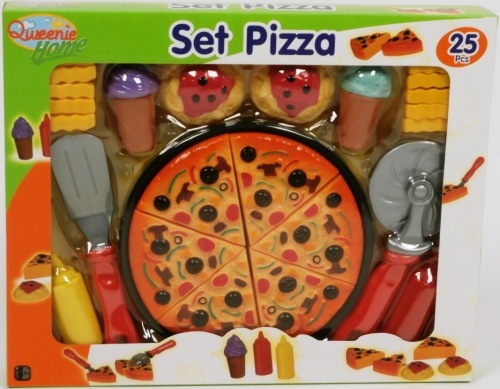 SET PIZZA 25 PCS