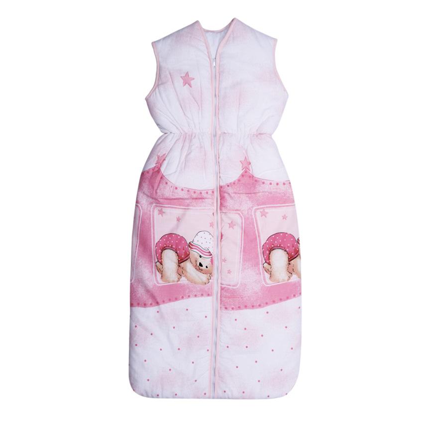 Sac de dormit de iarna 105 cm Sleepy Hat Pink