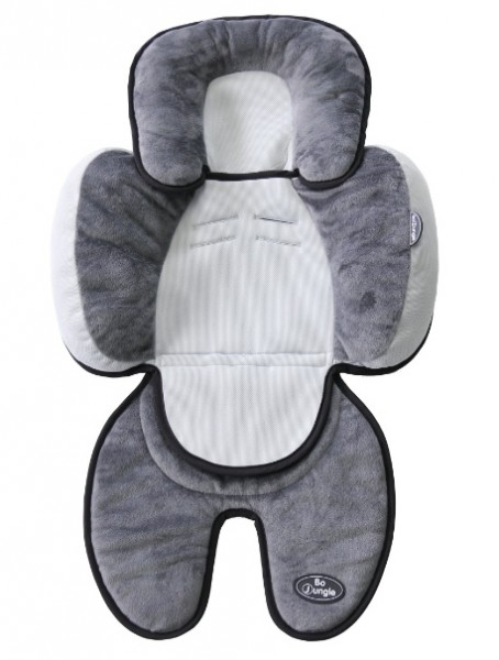 Saltea suplimentara Gri cu negru bebelusi BO Jungle 3 in 1 pentru carucior, scaun auto, scoica imagine