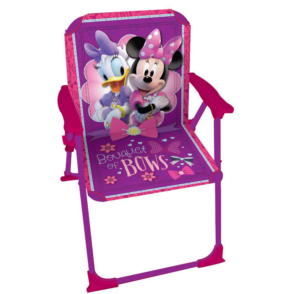 Scaun pliabil 37x25x26 cm Minnie Mouse
