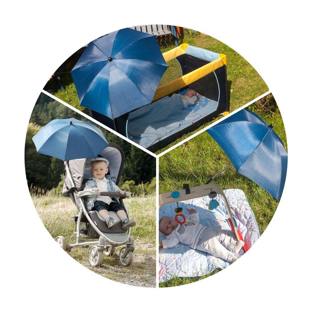 Umbreluta solara pentru carucioare bleumarin Reer 72156 - 3