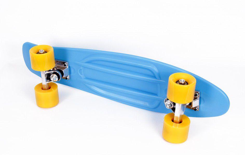 Skateboard Energy marime 56 x 15 cm Albastru