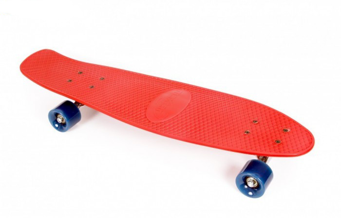 Skateboard Lightning marime 71 x 20 cm Rosu