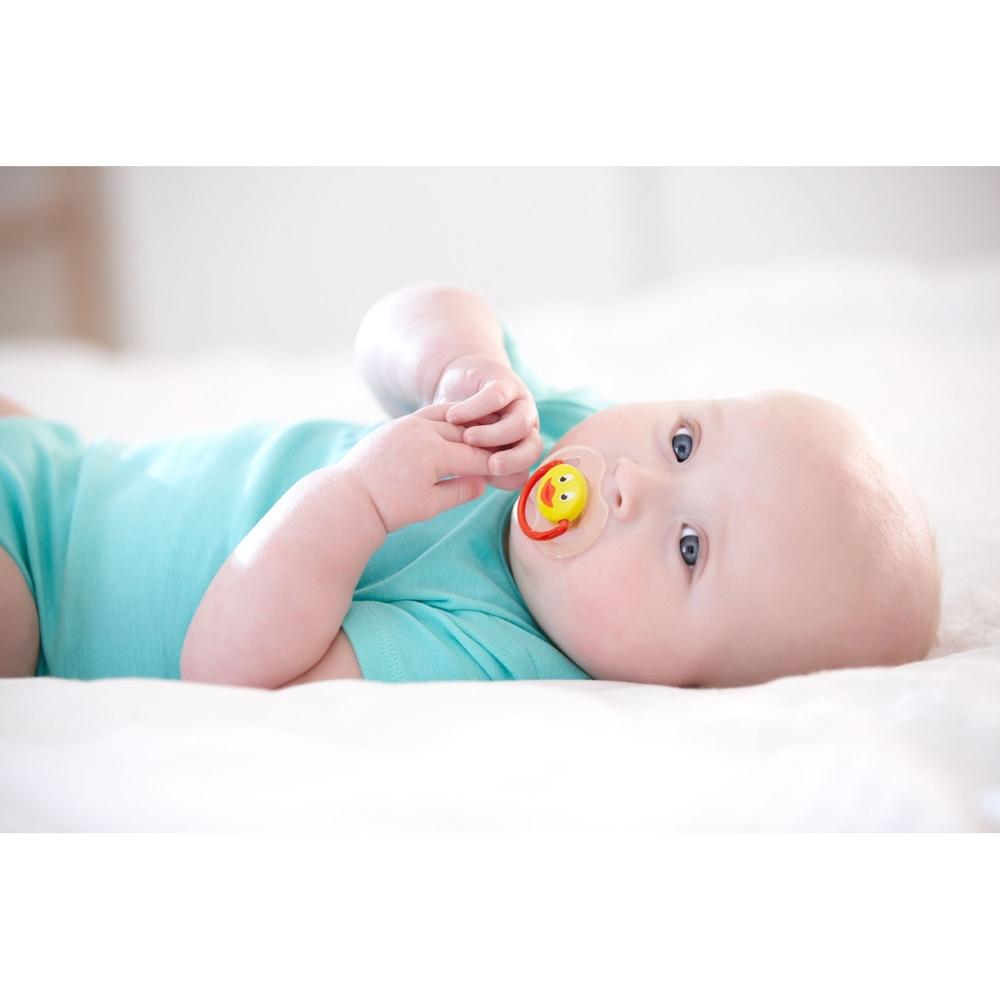 Suzete Philips Avent cu figurine set 2 buc 0 - 6 luni nu contin BPA