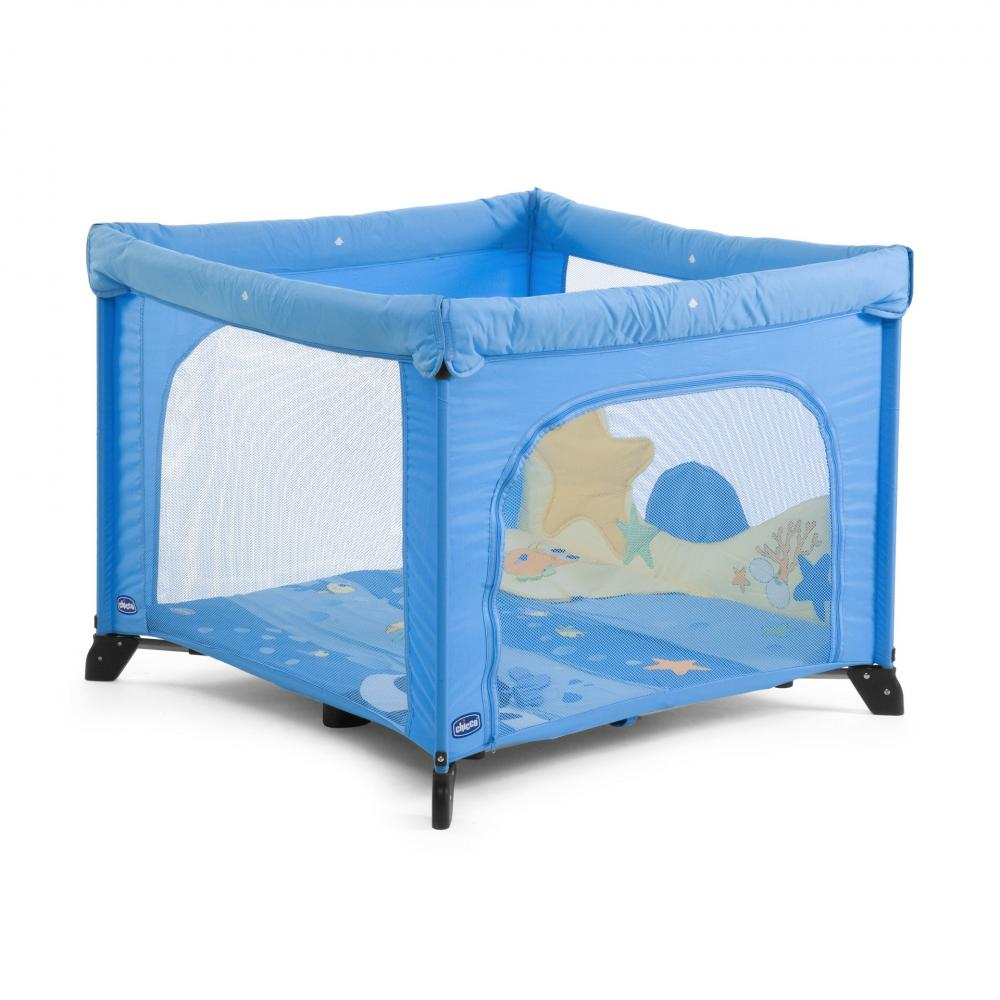 Tarc patrat Chicco Open Playpen, Sea Dreams, 0luni+