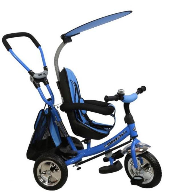 Tricicleta cu sezut reversibil Safari Break 360 Blue