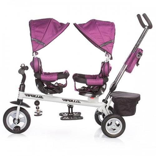 Tricicleta gemeni Chipolino Apollo purple
