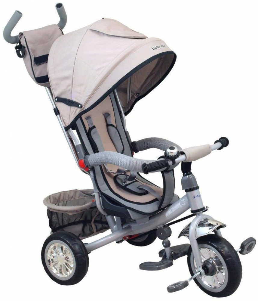 Tricicleta multifunctionala Sunny Steps Grey imagine