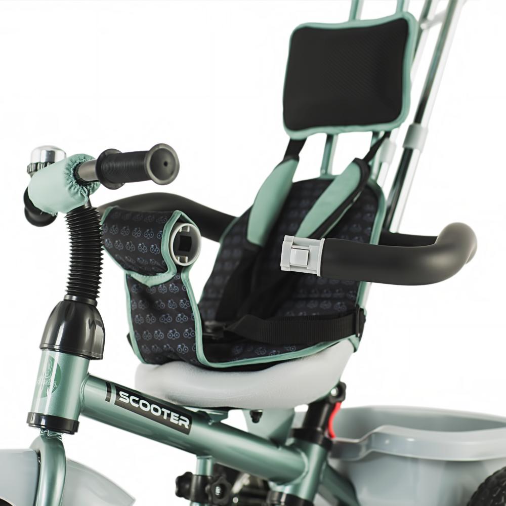 Tricicleta pentru copii Dhs Scooter Plus Verde