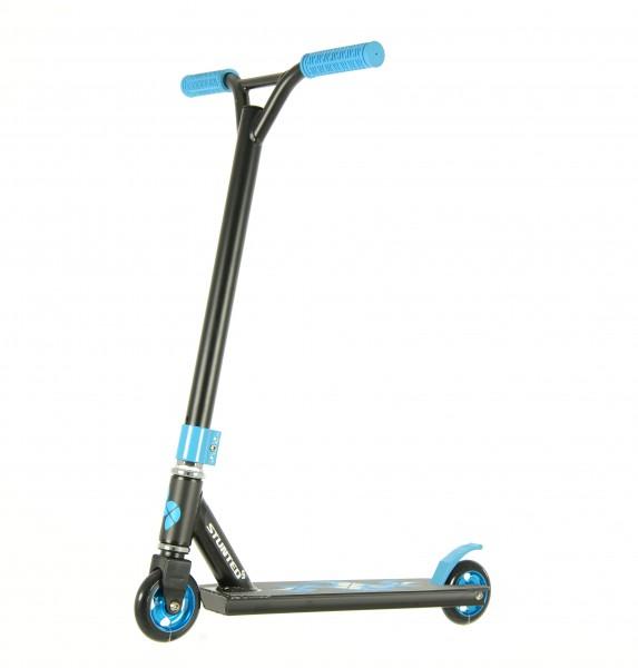 Trotineta Stunt Freestyle XT sarituri cascadorii si skatepark nivel Avansat Albastra imagine