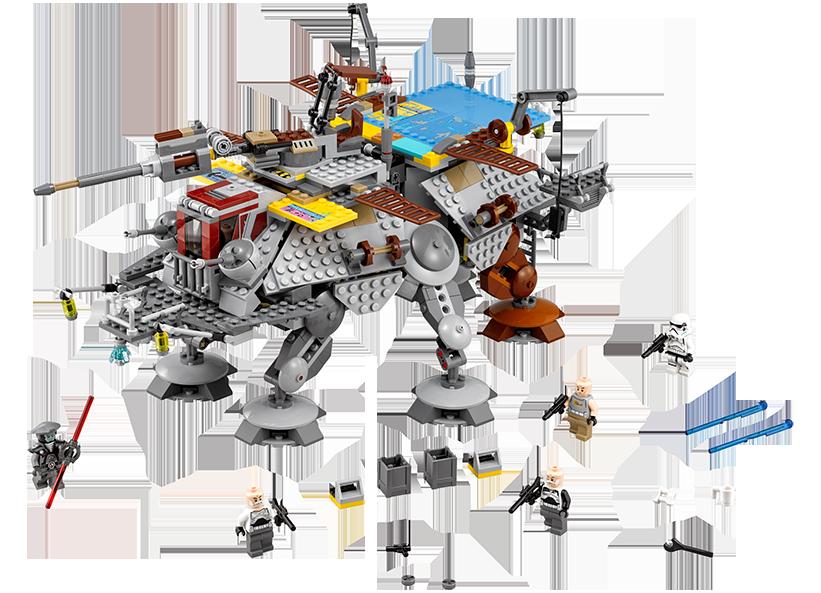 Vehiculul AT-TE al capitanului Rex (75157)