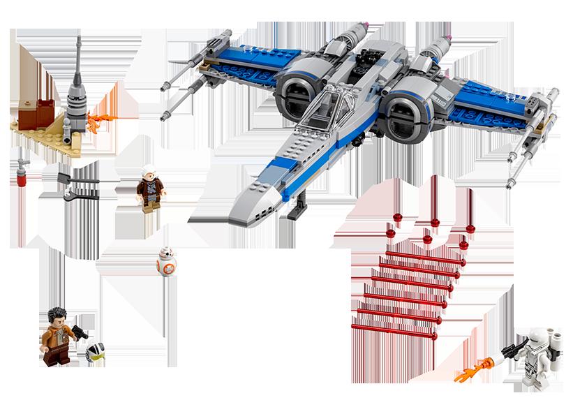 X-Wing Fighter al Rezistentei (75149)