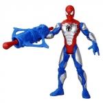 Figurina Spider Man cu Armura